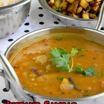 pottukadalai sambar recipe