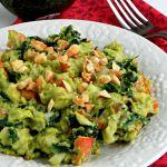 Kale Guacamole Salad Recipe / Kale avocado Salad
