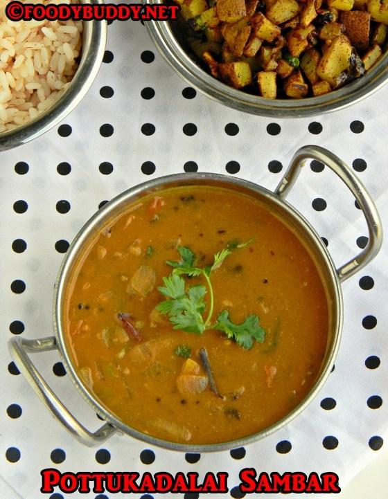 sambar recipe without dal and veggies