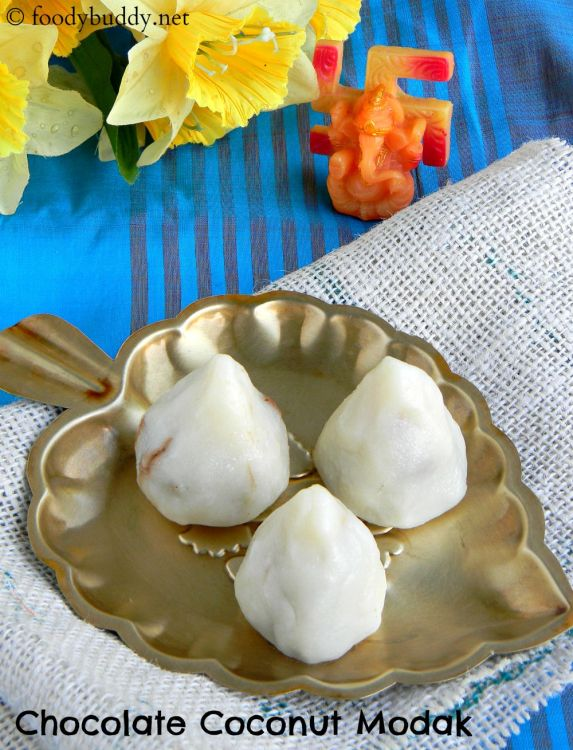 Chocolate Coconut Modak Recipe
