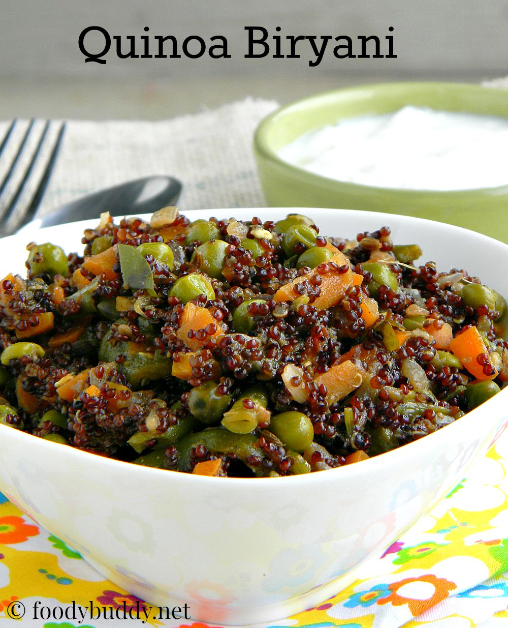 Quinoa vegetable biryani indian quinoa recipes foodybuddy tags quinoa biryani quinoa vegetable biryani quinoa vegetable biryani recipe quinoa indian recipes quinoa recipes quinoa rice how to cook quinoa in forumfinder Images
