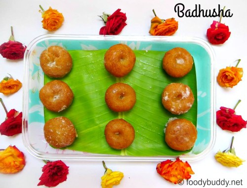 how to make badhusha