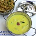 Chow Chow Mor Kulambu Recipe / How to make More Kuzhambu