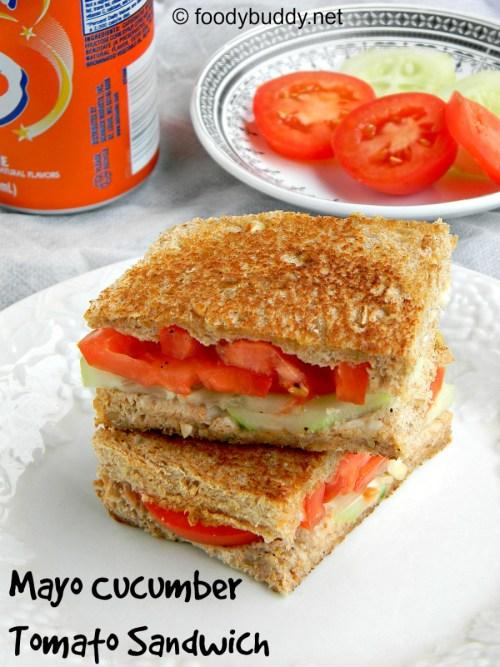 cucumber tomato sandwich recipe
