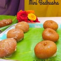 mini badhusha recipe