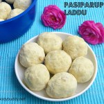 Pasiparuppu Laddu Recipe / Moong Dal Ladoo Recipe