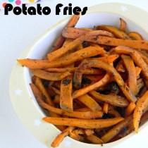 low fat sweet potato fries