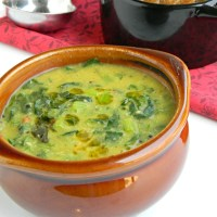 Turnip Greens Kootu Recipe Indian Style