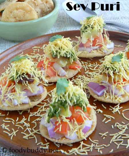 how to make sev puri at home