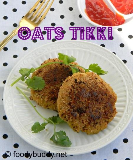 oats aloo tikki