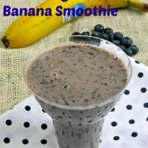 banana blueberry smoothie recipe