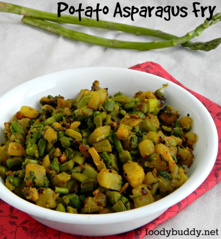 asparagus recipe indian style