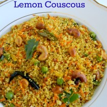 lemony couscous