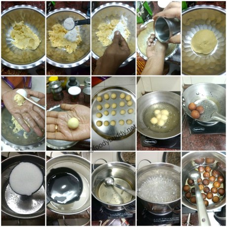 homemade gulab jamun recipe