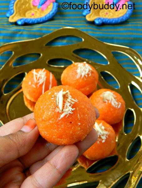 HOW TO MAKE MOTICHOOR LADOO