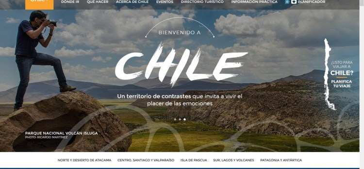 Chile has a new .Travel webpage