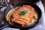 Katsudon Pork Cutlet Rice Bowl recipe