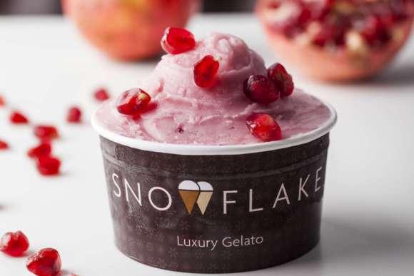 Snowflake Pomegranate guilt-free sorbetto