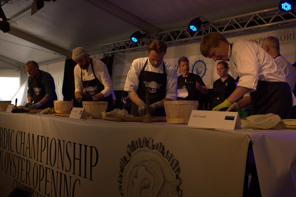oyster competition