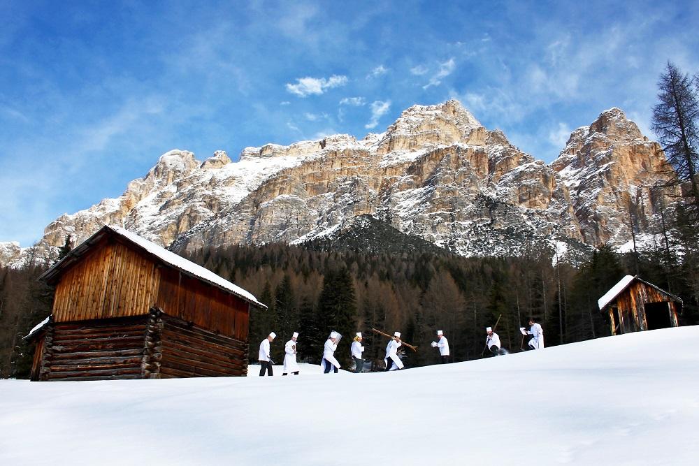 Alta Badia Sciare con gusto Skifahren mit Genuss