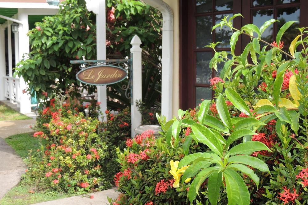 St Lucia le jardin