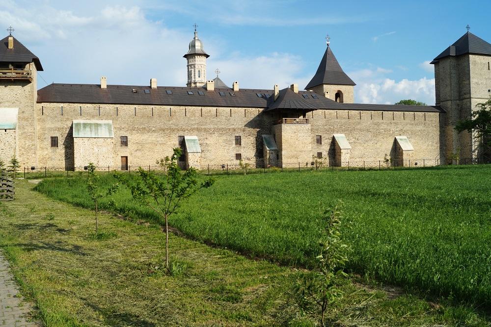 Monastery of Dragomirna Romania