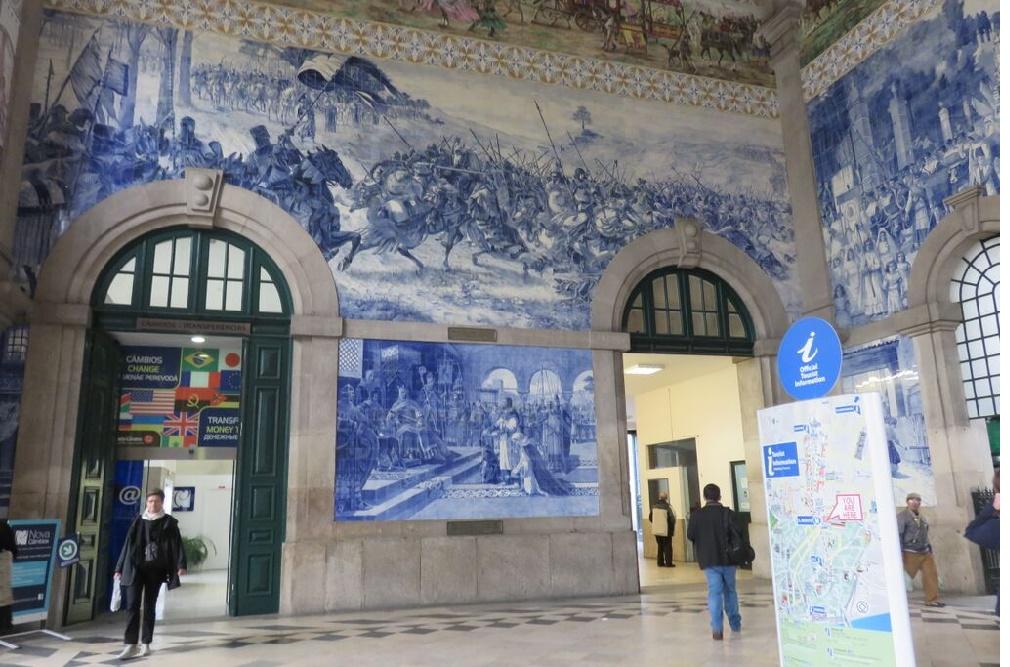 porto rail station