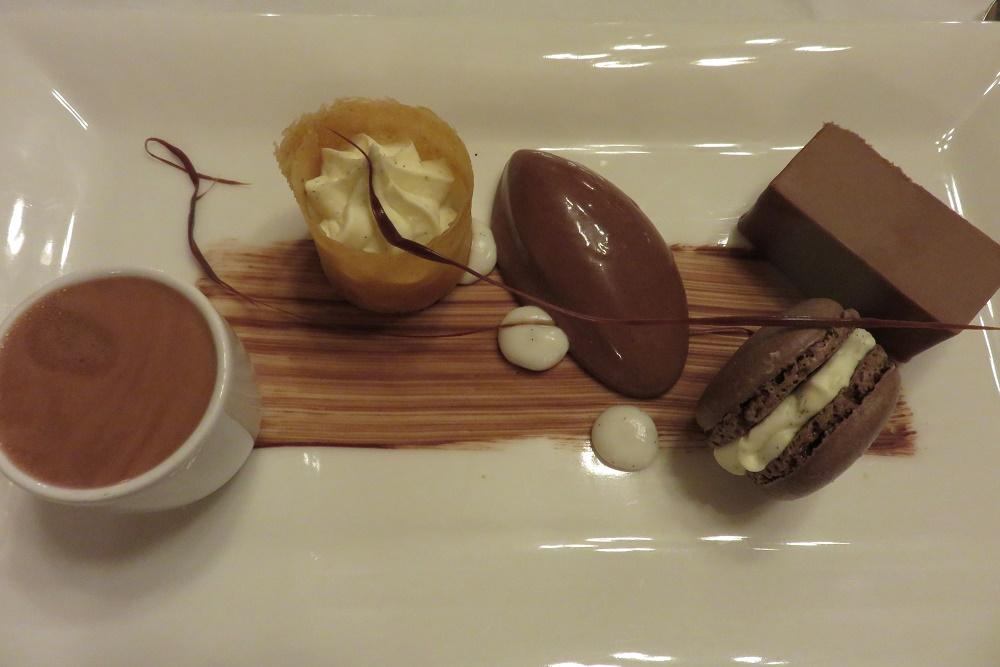 Ockenden Manor Assiette of chocolate