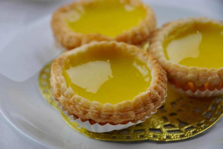 Egg Custard tarts Royal China