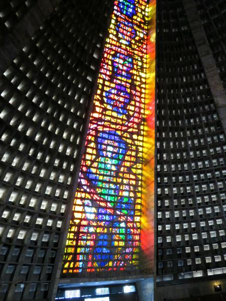 Rio Metropolitan Cathedral interior