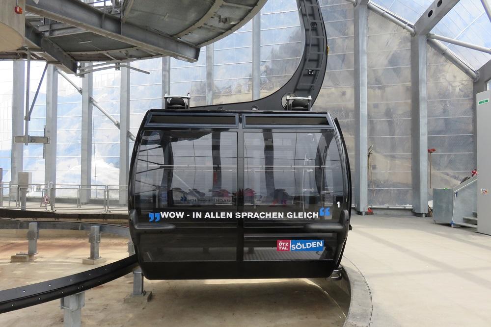 Tirol Ice Q Gondola station b 1
