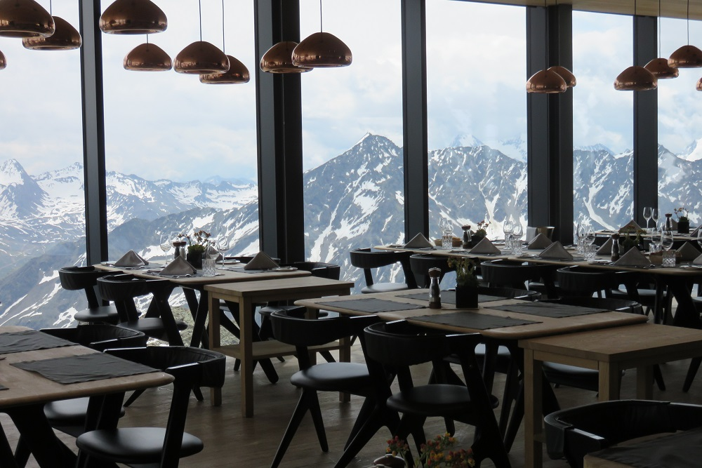 Tirol Ice Q view from restaurant 1