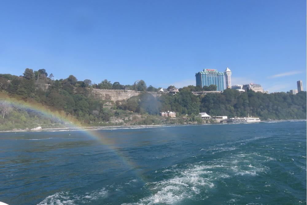 Niagara Hornblower cruise rainbow
