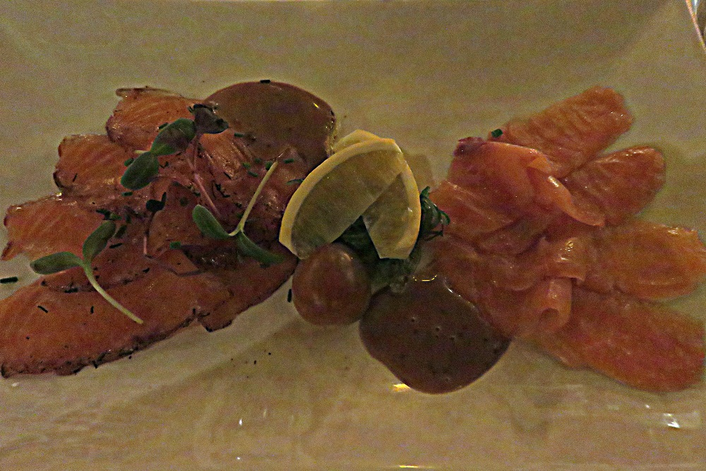 Schiedam Food 2. last para And so to windmills smoked salmon Noordmolen