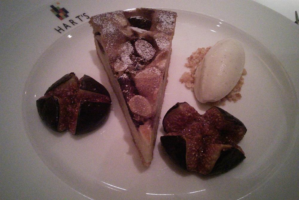1 Nottingham Harts Hotel dinner dessert