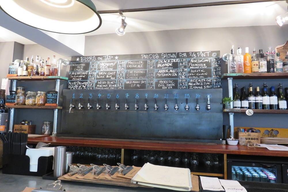 4 Nottingham Junkyard Beer on tapJPG