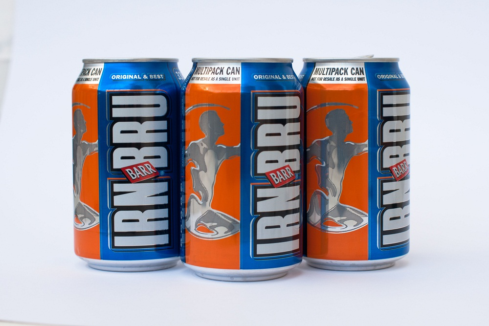 Cans of Irn Bru
