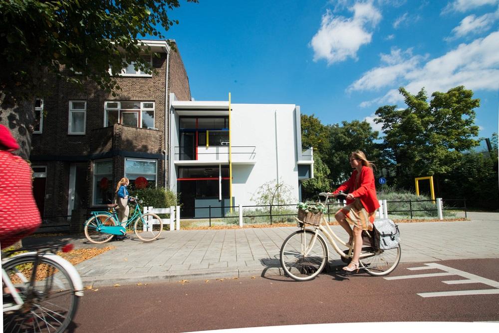 Rietveld Schröder House bike