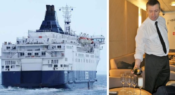 DFDS from Dover to Calais or Dunkirk