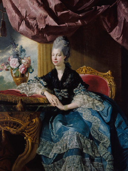 Queen Charlotte Johann Joseph Zoffany 1771 Royal Collection Trust Her Majesty Queen Elizabeth II 2017