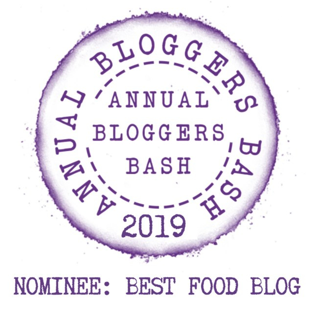 Annual Bloggers Bash Awards Nominee Best Food Blog