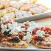 Easy Pita Bread Tomato and Feta Cheese Appetizer