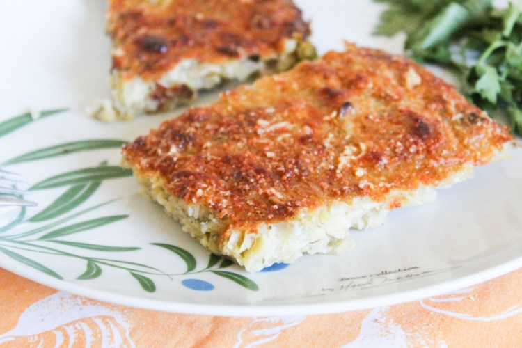 Quick Leek and Cheese Quiche