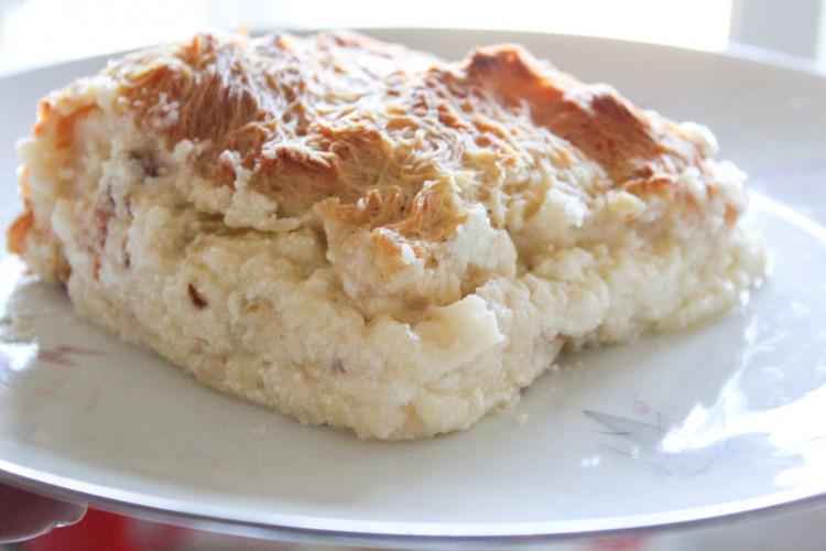 Delicious Greek Shredded Dough Cheese Pie