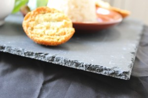 Beautiful Black Rock Stone Platter