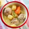 Greek Lemon taste Meat Ball Stew