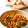 Simple Chickpea Salad