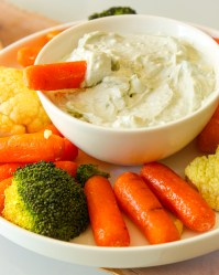 Blue Cheese Dip with Greek Yogurt