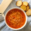Lentil, Rice, Tomato Soup