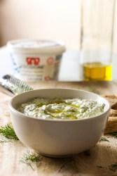 tzatziki dip, yogurt, olive oil